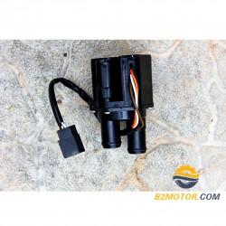 Кран печки електрический Крайслер (3 патрубка)
