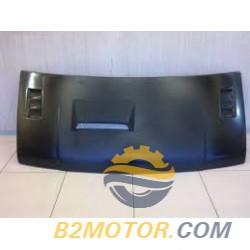 Капот Газель ст/о (пластик) черный с воздухозаборником