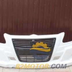 Бампер «Бизнес Спорт» без туманок (белый)