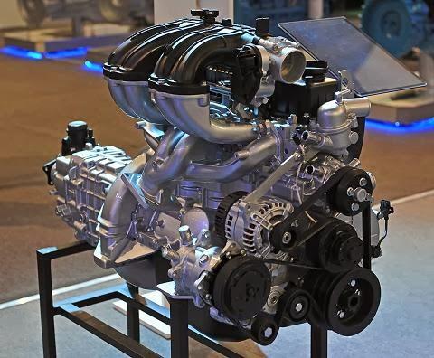 Новый EvoTech 2.7 на выставке ГАЗ