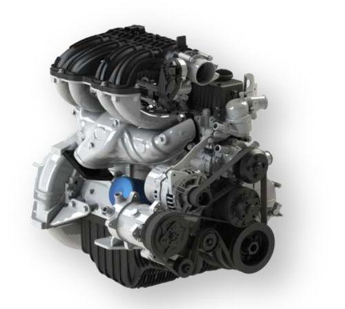 Мощный и надежный двигатель EvoTech 2.7