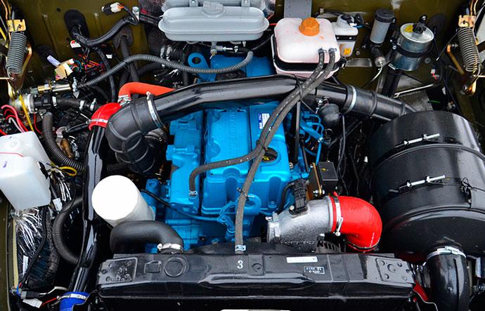 Битопливный ЯМЗ-534 CNG на коммерческом авто